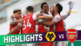 Highlights & Goals |  Wolverhampton Vs. Arsenal 0 2 | Telemundo Deportes