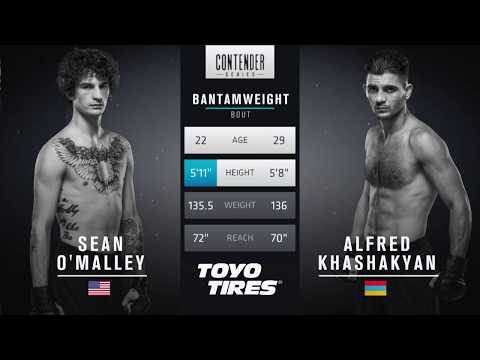 Sean O'Malley vs Alfred Khashakayan | DWTNCS Week 2 Contract Winner
