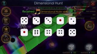 Legacy of Discord: Spent 9.5k diamonds Trying out Dimensional Hunt