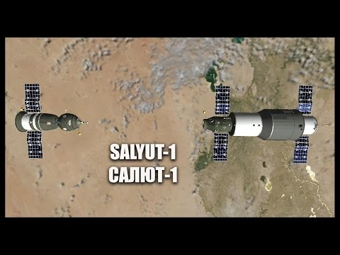 Salyut 1 - Orbiter Space Flight Simulator 2010