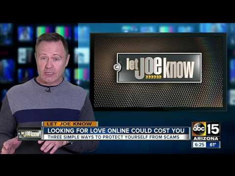 Woman targeted by scammer on online dating website from YouTube · Duration:  1 minutes 17 seconds