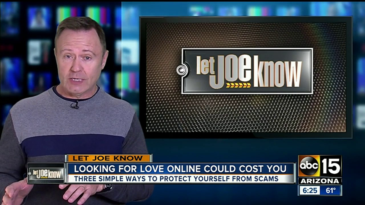 Woman targeted by scammer on online dating website