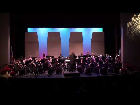 Concert Band - Secret Agent Santa (Jeff Simmons)