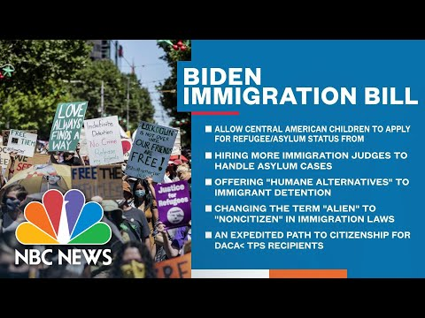 Biden Admin. To Send 'Multipronged' Immigration Overhaul To Congress | NBC News NOW