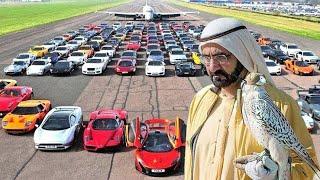LUXOS EXAGERADOS DO REI DE DUBAI