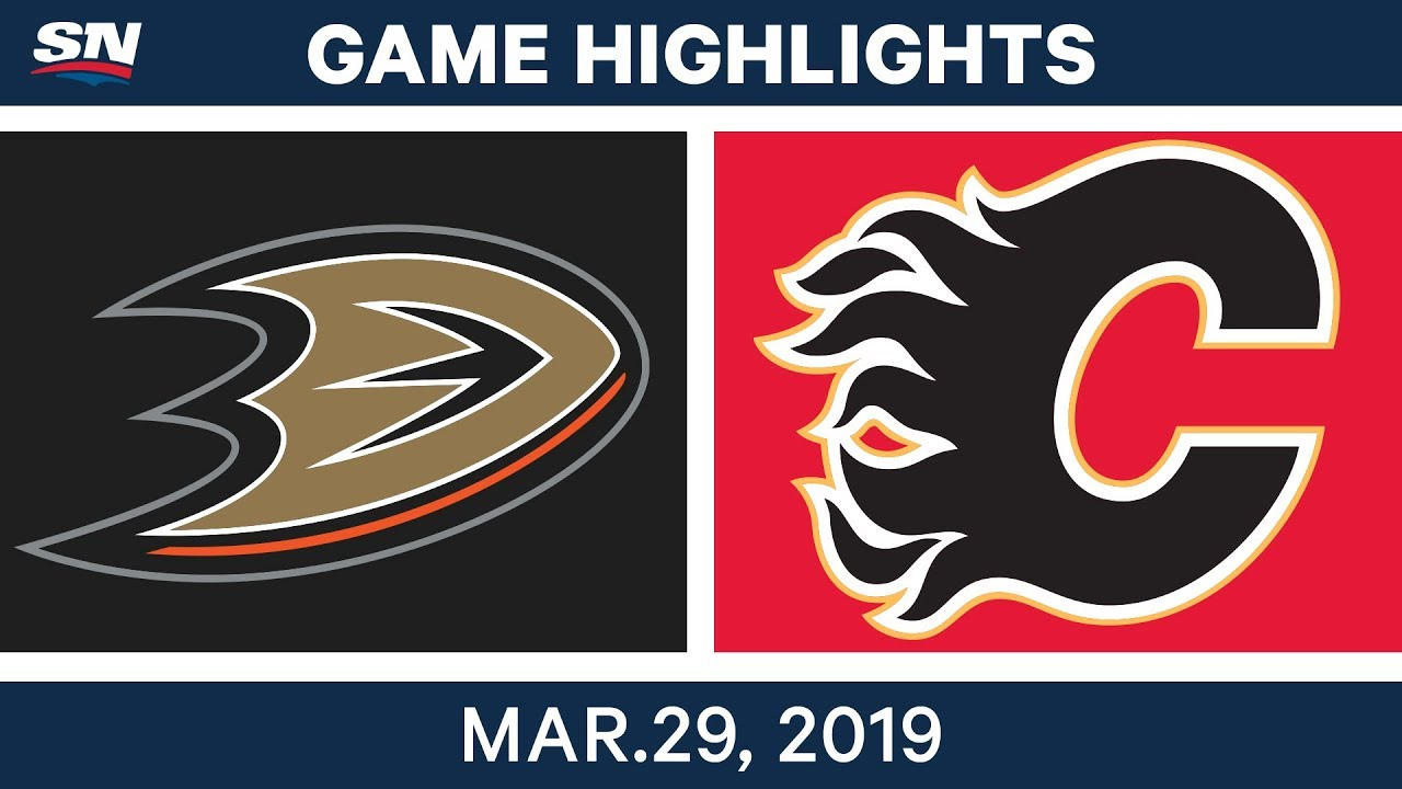 Nhl Game Highlights Ducks Vs Flames March 29 2019