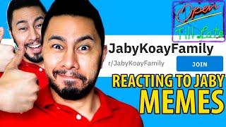 REACTING TO JABY MEMES ON REDDIT! | Livestream | Jaby Koay