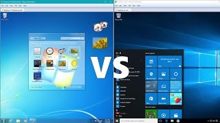 Comparing Windows 10 to Windows 7!