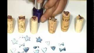 How To Make Wine Corks Stamps