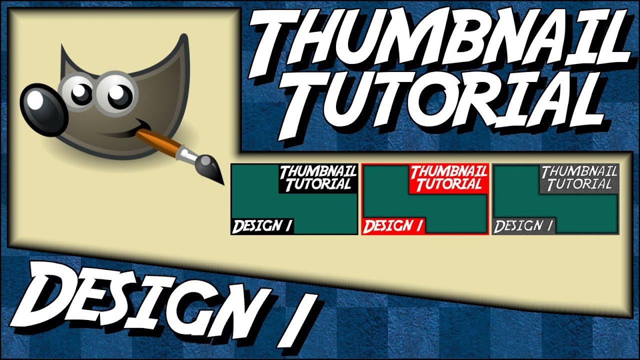 Wie erstelle ich einen Rahmen? - Design 1 - Gimp Custom Thumbnail ...