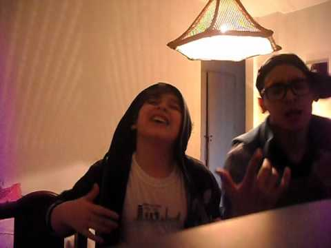 Call me maybe parody by Lucas and Santiago