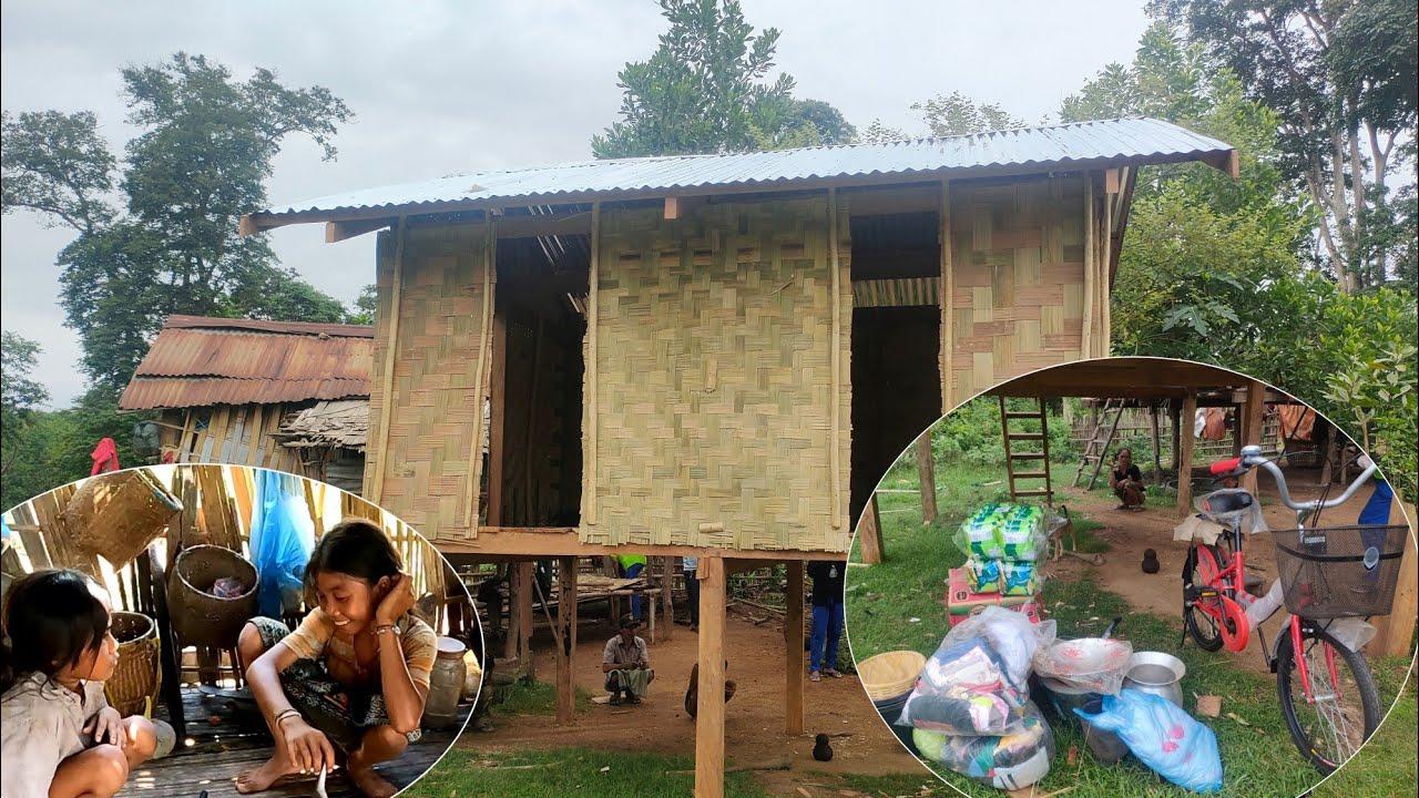 สร้างบ้านครอบครัวลูก 7 คนเสร็จแล้ว