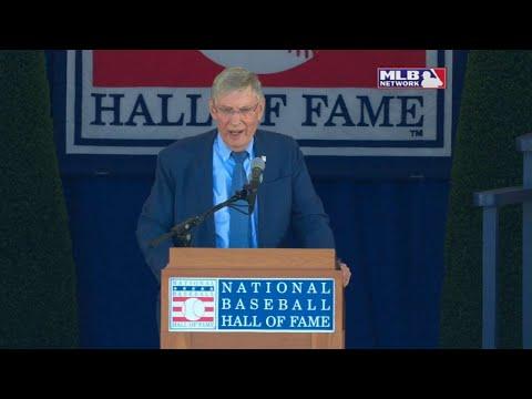 Bud Selig thanks the baseball community