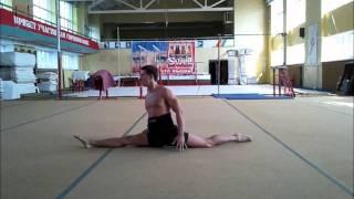 Акробатика и силовые элементы, сальто назад, шпагат, спичаг