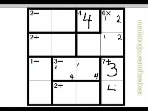 picture relating to Kenken Printable referred to as Pointers and purpose of our totally free printable MathDoku puzzles