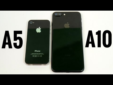 iPhone 4S vs iPhone 7 Plus? (A5 vs A10)
