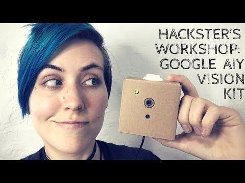 Live Build: Google AIY Vision Kit