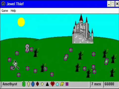 Jewel Thief (Old game)
