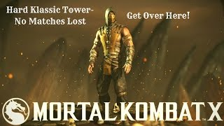 Mortal Kombat XL (Xbox One) Scorpion (Inferno) HARD Klassic Tower-No Matches Lost(This is another Hard Klassic Tower redo with Scorpion using the alternate color of his primary costume (The alternate color is very cool just like the original color) ..., 2016-12-19T16:29:02.000Z)