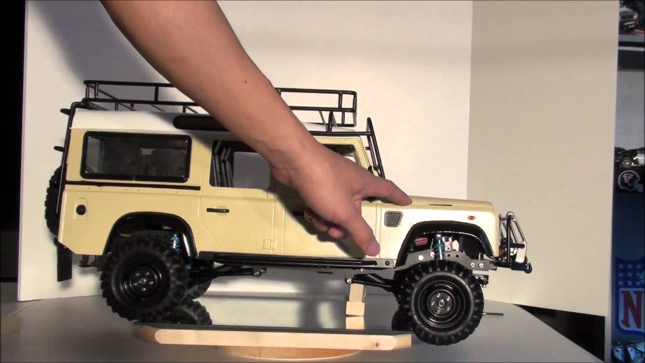 Rc4wd Gelande Land Rover Defender D110 Overview Youtube