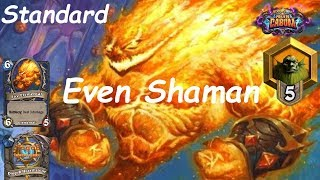 Hearthstone: Even Shaman #11: Boomsday (Projeto Cabum) - Standard Constructed