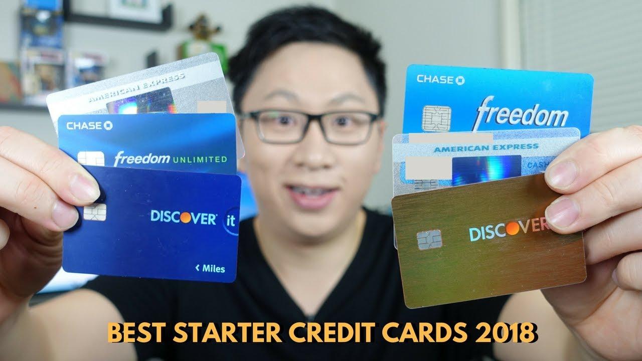 Best Starter Credit Cards 2018 — AskSebby