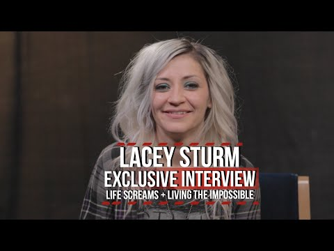 Lacey Sturm (ex-Flyleaf) Talks 'Life Screams' + Living the Impossible