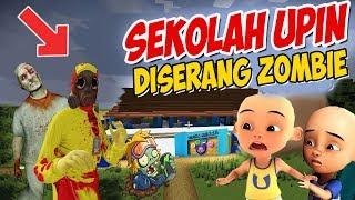 Download lagu Sekolah Upin ipin DiSerang Zombie ipin takut GTA Lucu MP3