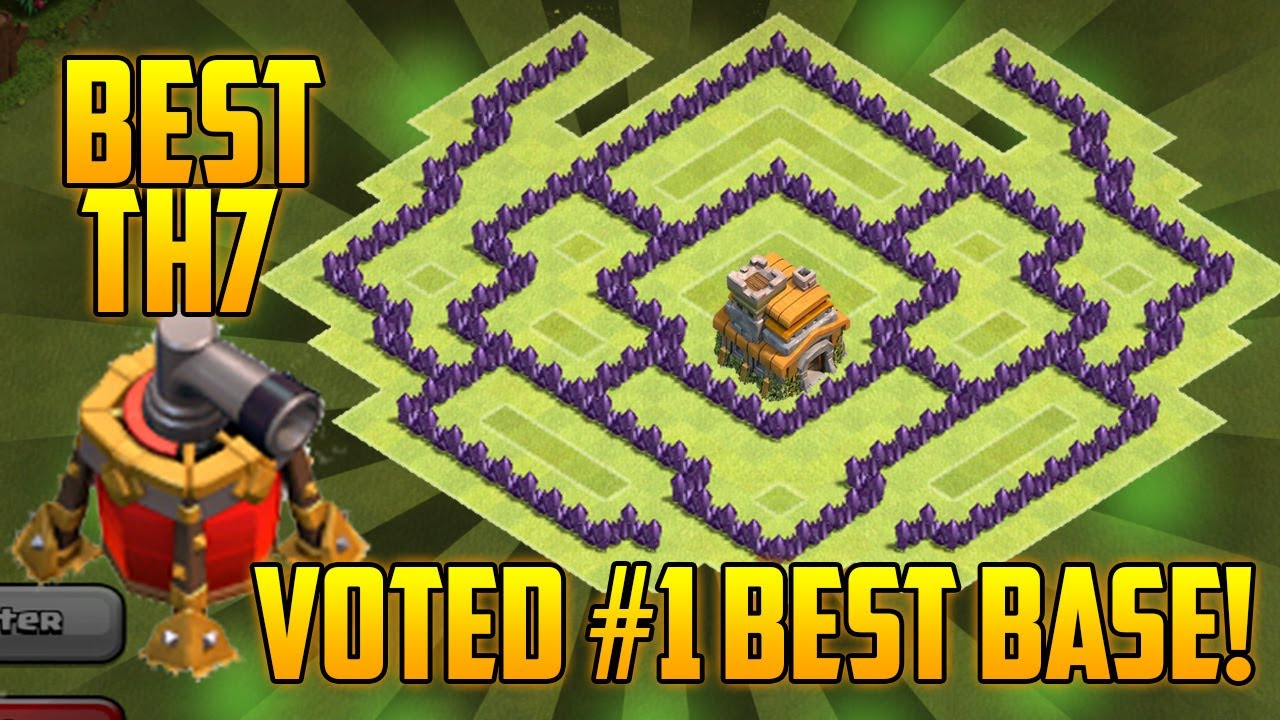 Town Hall 7 Anti Dragon Base Coc No One Can T Beat Your Base Update 2016 Youtube