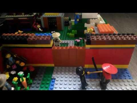 Tuto maison moderne lego youtube for Maison moderne lego