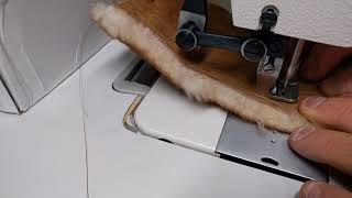 Techsew 2135 Industrial Sewing Machine - Sample TO 1/4
