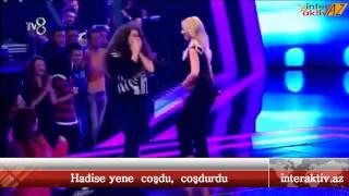 Hadise coşdu, coşdurdu - O Ses Türkiye