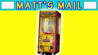 Matt's Mail - Mini Toy Soldier Claw Machine!!​​​ | Matt3756​​​