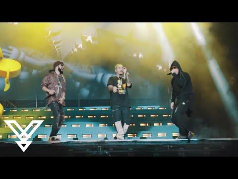 """j.-balvin-+-wisin-y-yandel-""""rakata""""-lollapalooza-2019-(live)"""