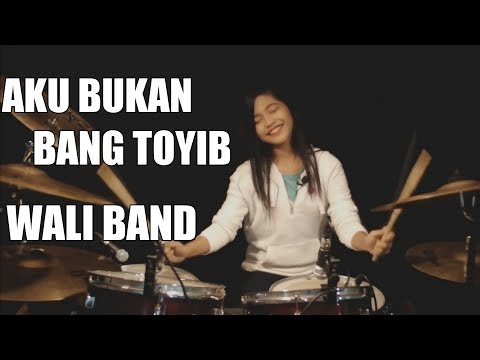 Aku Bukan Bang Toyib | Wali Band | Drum Cover by Nur Amira Syahira