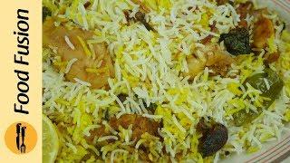 Hyderabadi Saadi Biryani Recipe ( Quick and Easy) By Food Fusion