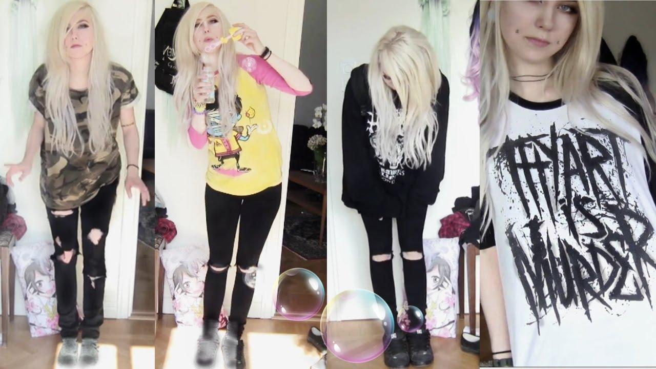 My u0026quot;Emo/Scene/alternativeu0026quot; outfits - YouTube