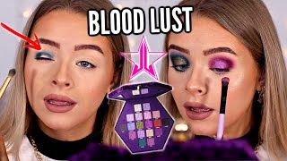 TESTING JEFFREE STAR BLOOD LUST PALETTE.. HERE ARE MY HONEST THOUGHTS