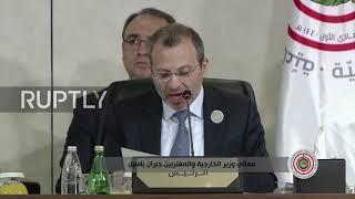 Lebanon: Lebanese FM demands restoration of Syria's Arab Lea…