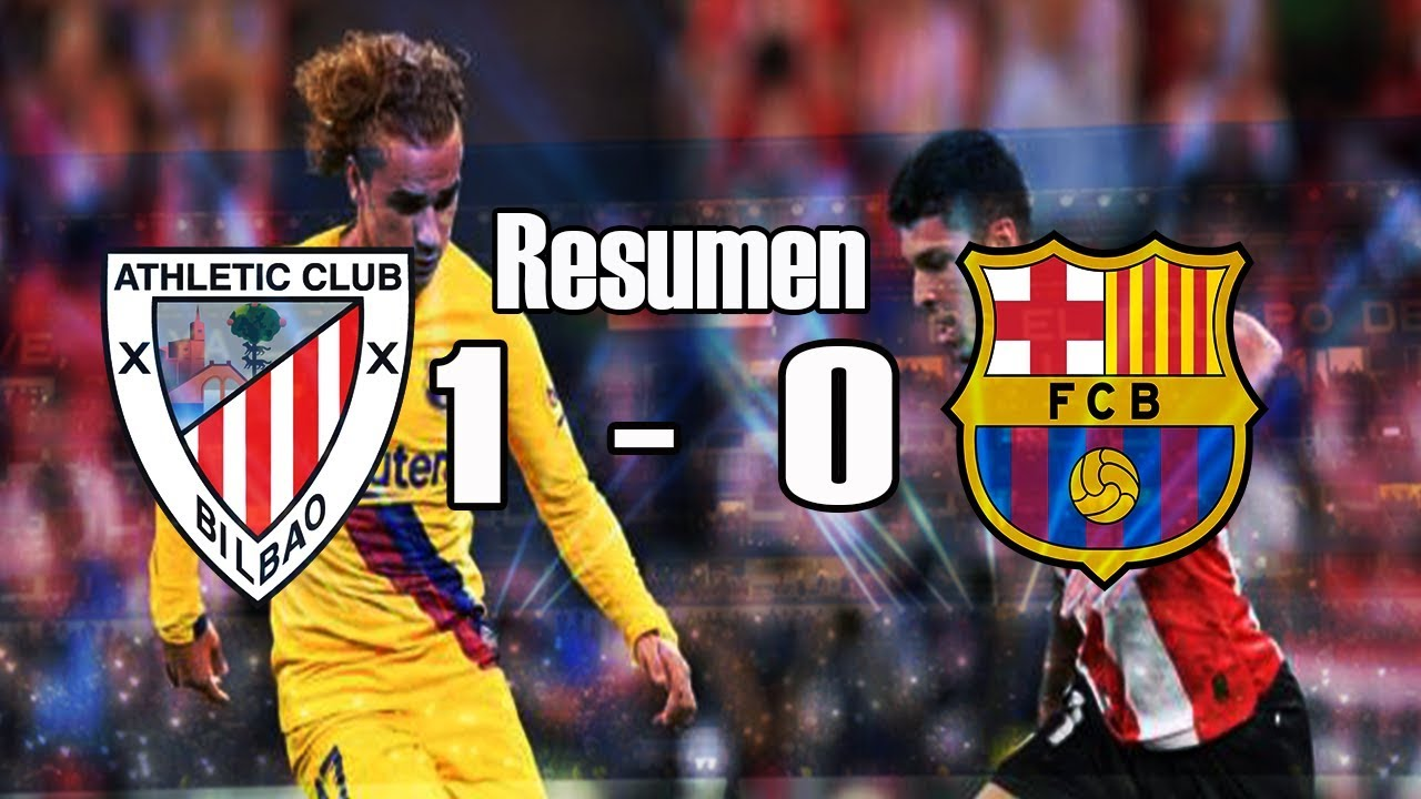 BARCELONA VS. ATHLETIC BILBAO (1-0) Resumen FECHA 1 POR LA ...