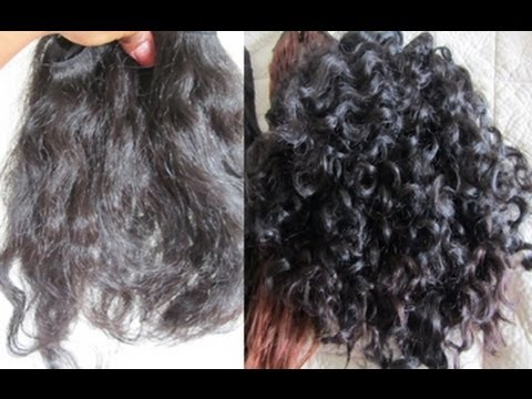Howto Make Straight Hair Curly With Perm Experiment