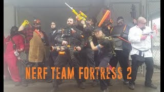 Meet the Nerf Heavy (Team Fortress 2 Nerf Battle)