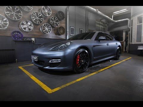 2016 Porsche Panamera Arlon Gunpowder