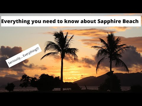 Everything You Need To Know About Sapphire Beach On St. Thomas USVI