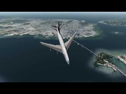LH 747-400 crash into San Francisco Bay