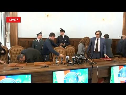 Terrorismo, blitz contro cellule jihadiste in Italia - La conferenza stampa