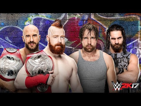 WWE SUMMERSLAM 2017 Sheamus & Cesaro vs...