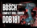 Bosch DDB181 Compact 18v Drill/Driver