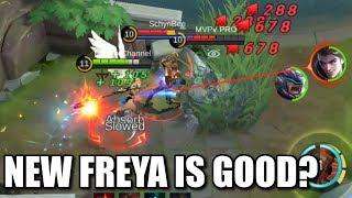 IS THE NEW FREYA GOOD?