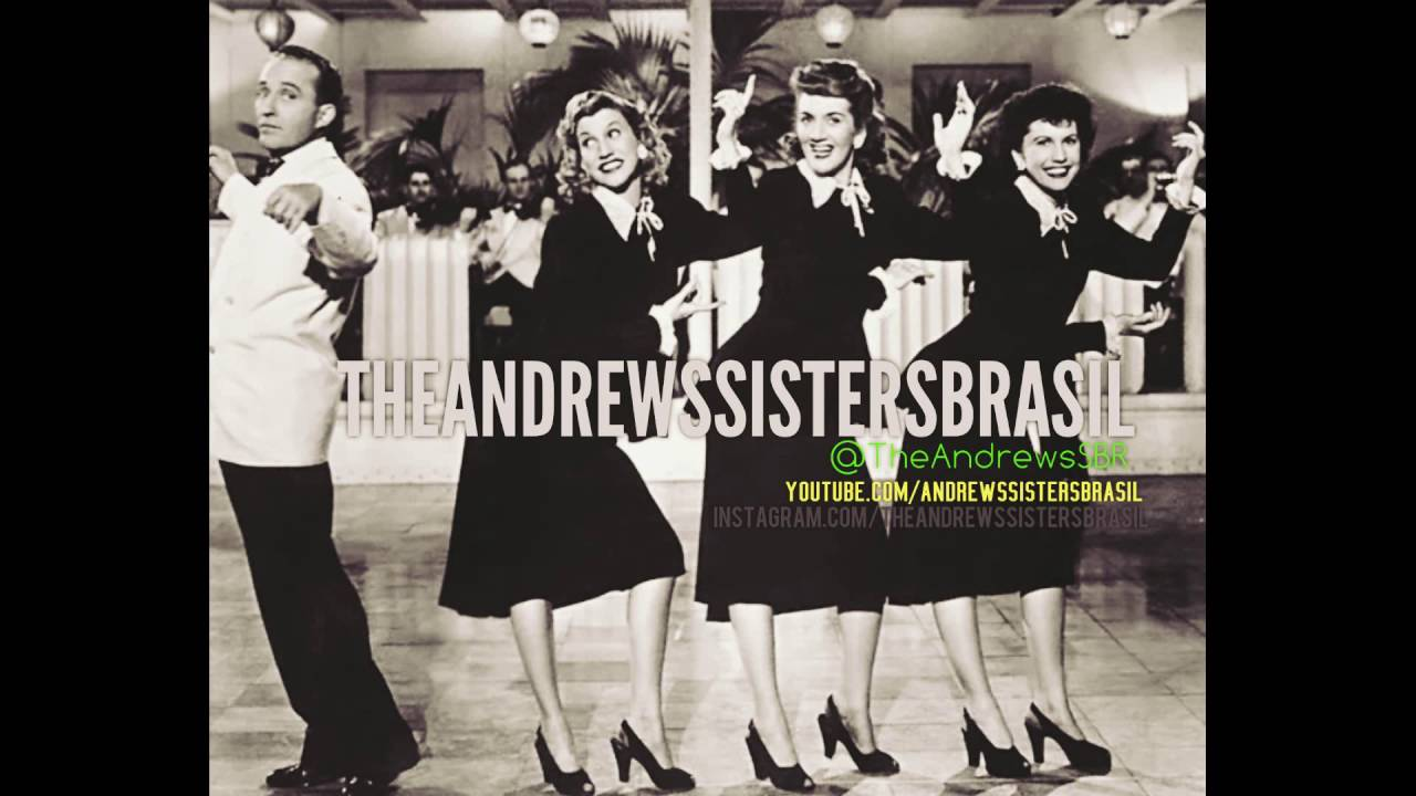 the andrews sisters e bing crosby victory polka 1943 ww2 song